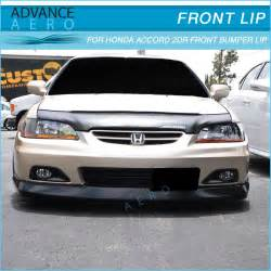 for 01 02 honda accord 2 door oe style front bumper lip