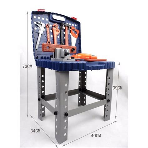 work bench toy kids play pretend toy tool set workbench construction
