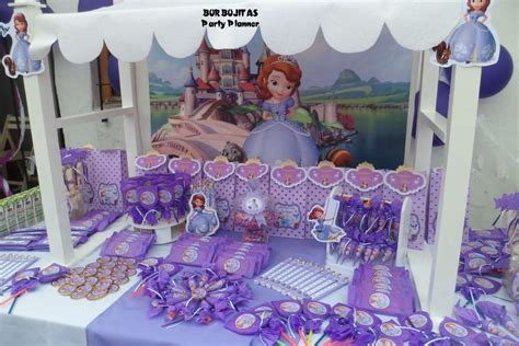 Princess Sofia Decorations by Princess Sofia Birthday Ideas Photo 7 Of 15
