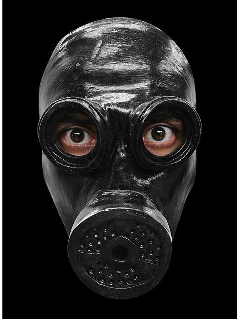 Masker Wajah Black Mask gas mask black horror mask maskworld