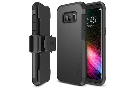 Samsung S8 Series Trianium Duranium Series For Samsung Galaxy S8 Gunmetal