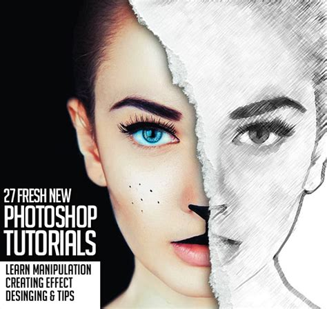 tutorial photoshop new 27 fresh new photoshop tutorials to improve your designing