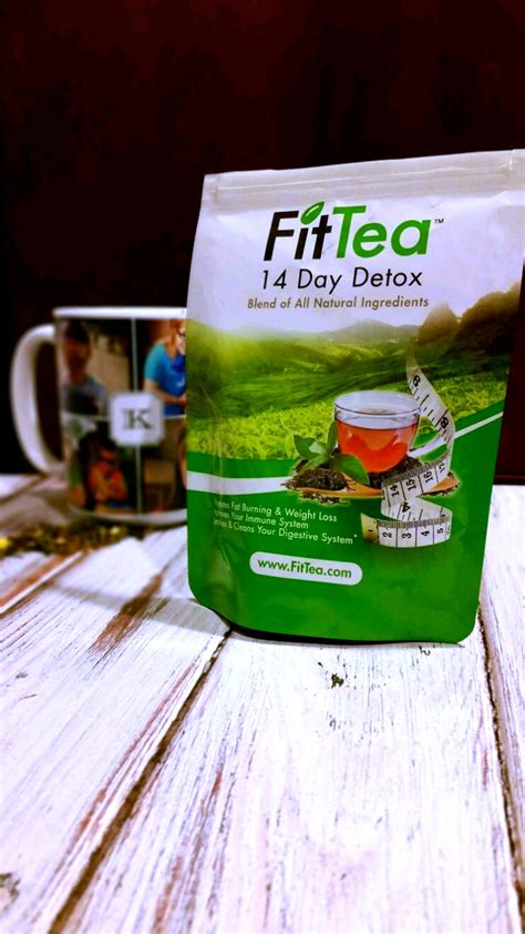 Fit Tea Detox by Boost Your Energy And Immune System With The All