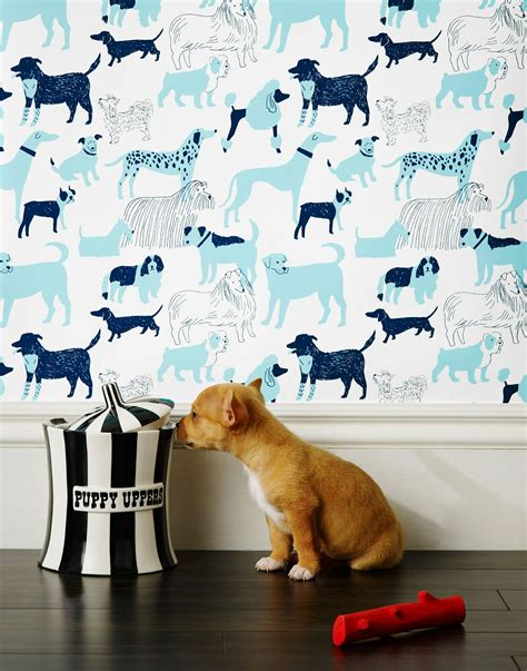 dog house wallpaper dog park wallpaper by julia rothman dog milk