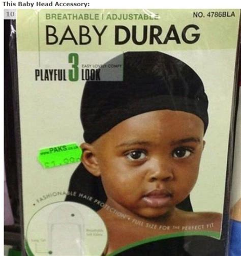 benefits of wearing a do rag ten strange baby products neatorama