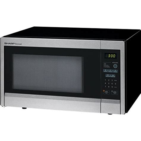 Freezer Sharp Fr G189 sharp 1 1 cu ft 1000w countertop microwave microwave
