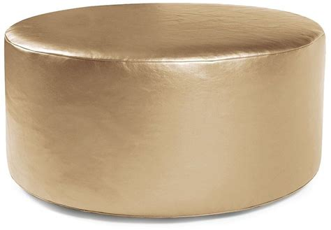 36 round ottoman shimmer gold universal 36 quot round ottoman 132 880 howard