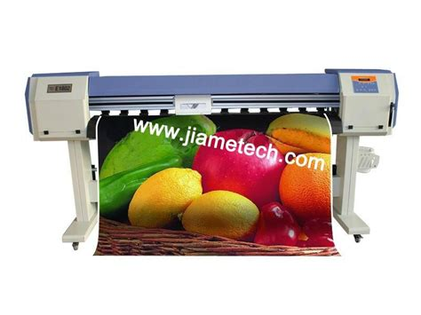Printer Epson Eco Solvent 1 8m epson dx5 eco solvent printer jm e1801 china