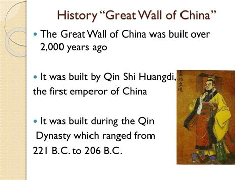 Ppt The Great Wall Of China Powerpoint Presentation Id Great Wall Of China Powerpoint