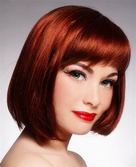 hairstyle ideas for chin length hair red chin length hair the latest trends in women s