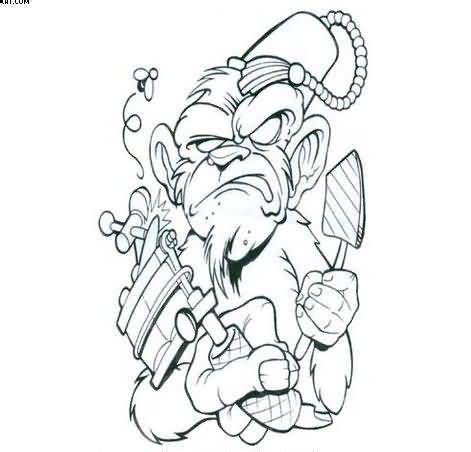 tattoos stencils for men 32 best evil stencils for images on