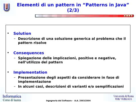 java pattern negative lookahead lezione 00 introduzione ai design patterns