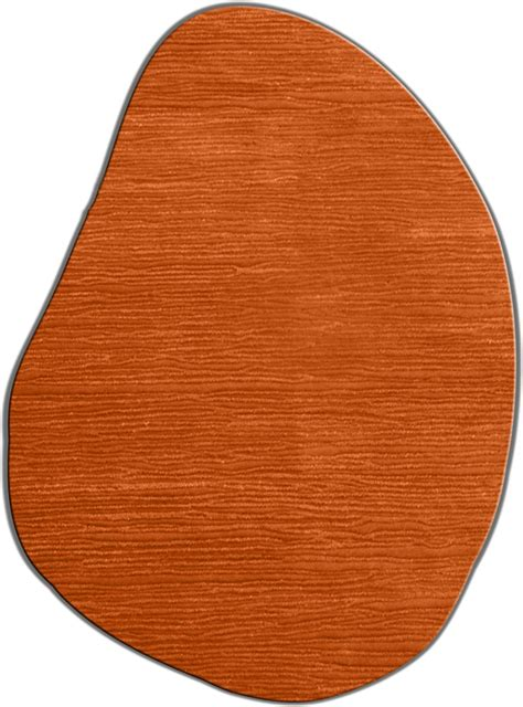 irregular shaped rugs flagstone tangerine rug from the shapes irregular and rugs collection at modern area rugs
