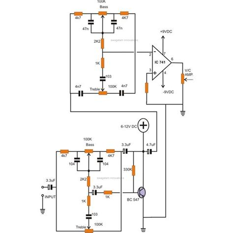 transistor bass lifier how to make tone controls for a stereo lifier