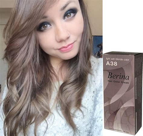 using pale ash blonde hair dye to transition to gray berina hair color permanent cream hair ash blonde light