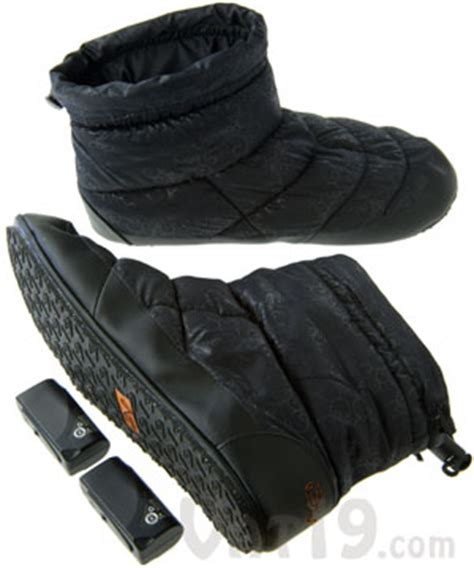 heated slippers volt heated indoor outdoor slippers with built in thermostat