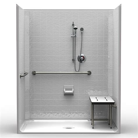 Shower Curb Height by Single Code Compliant 63 Quot X 37 Quot X 79 Quot Shower