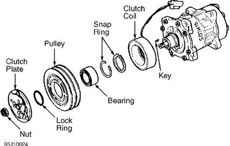 Bearing Kompresor Ac Mitsubishi Kuda Laher Lager Laker Bering volvo 960 850 airco ac compressor parts volvo