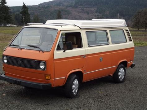 old car owners manuals 1985 volkswagen type 2 engine control no reserve 1980 vanagon country homes cer rebuilt motor original paint for sale photos