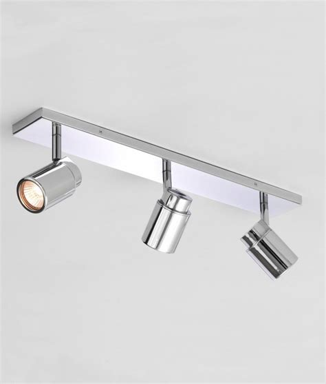 bathroom light bars chrome polished chrome triple spot light bar ip44 bathroom