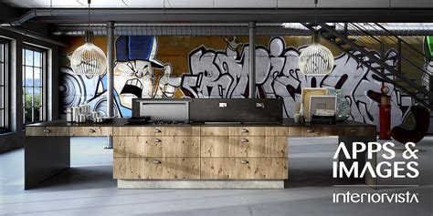 graffiti art home decor new age contemporary kitchens