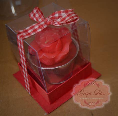 Lilin Souvenir Dekorasi Bentuk Bunga griya lilin souvenir lilin bunga