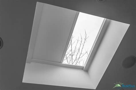 skylight window coverings motorized skylight shades and blinds in toronto