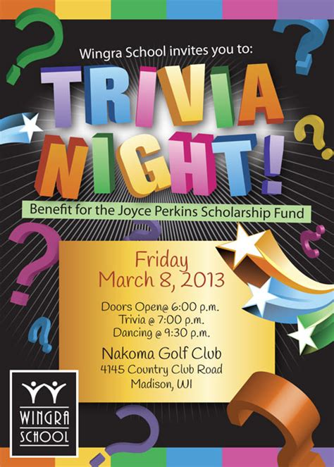 themes for quiz nights trivia night event flyer special event flyer designs