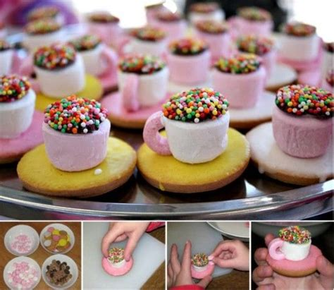 diy treats diy marshmallow teacup treats pictures photos and images for