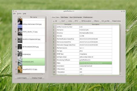 metadatos imagenes jpg editar y ver los metadatos de una imagen con pyexiftoolgui
