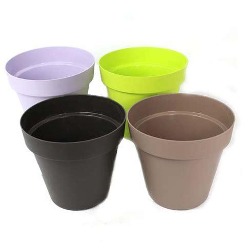 Pot Plastik Coklat 18 Cm Green Leaf flower pots for sale in ireland bright