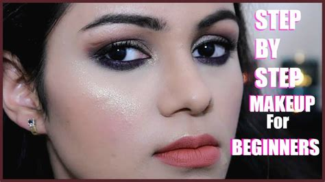 tutorial makeup untuk beginner क स कर म कअप step by step makeup tutorial for beginners