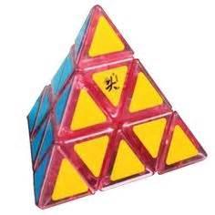 Rubik Qj Skewb Black Base Twisty Puzzle lanlan skewb