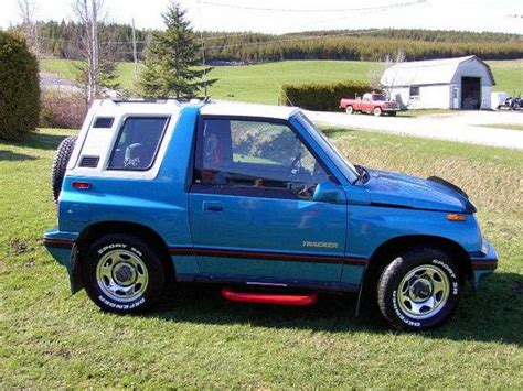 chevy tracker 1990 gearpower s 1990 chevrolet tracker in coleraine qc