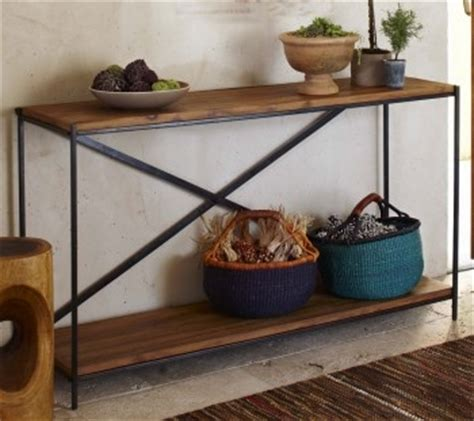 railroad tie console table 1000 images about railroad tie furniture on