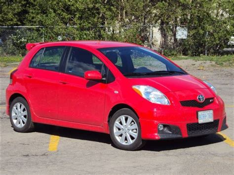 2007 toyota yaris rs test drive 2010 toyota yaris rs hatchback autos ca