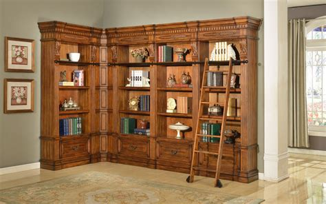Large Corner Bookcase Furniture Granada Museum Corner Bookcase Large