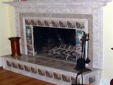 Ceramic Tile Fireplace Surround by Jyydek Fireplace Surrounds Tile