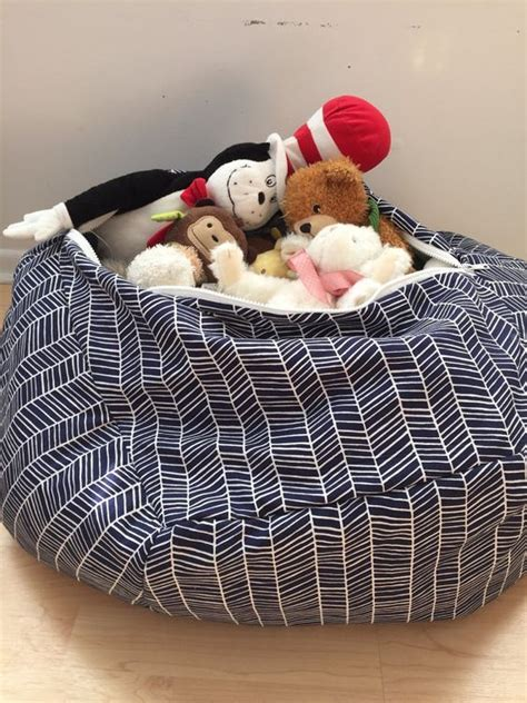 stuffed animal bean bag storage pattern 11 best artwork holder images on