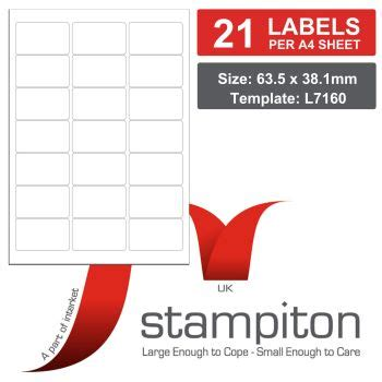label template 21 per sheet word mediasave stiton address labels
