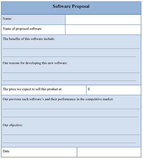 template software template for software sle of software