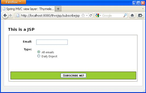 jsp template mvc view layer thymeleaf vs jsp thymeleaf
