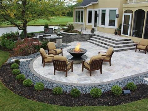 Backyard Stone Patio Designs Interior Home Design Ideas Designers Patio