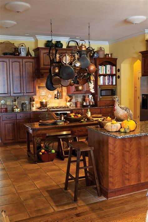 autumn   kitchen page    cottage journal