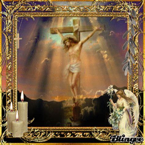 imagenes de jesus crucificado en movimiento gifs religiosos jes 250 s crucificado