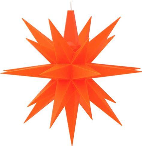 kleine herrnhuter sterne herrnhuter kleiner herrnhuter orange