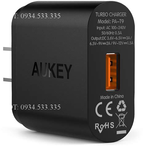 Aukey Pa T9 Charge 3 0 sạc nhanh charge 3 0 aukey pa t9