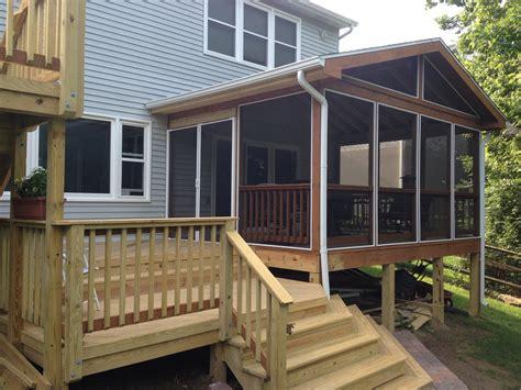Enclose A Covered Porch Enclosing A Pergola