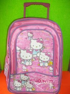 Tas Ransel Anak Sekolah Cewek Perempuan Motif Hello Gr20 Pink tas sekolah import tas sekolah grosir tas anak anak tas
