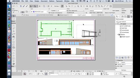 youtube archicad layout archicad 21 placing saved views on a layout youtube